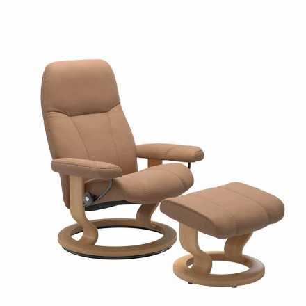 Afslappende lænestol med lænestol med osmannisk - Stressless Consul