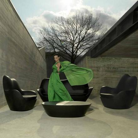 Moderne haven lænestol, lavet af polyethylen, Sabinas by Vondom