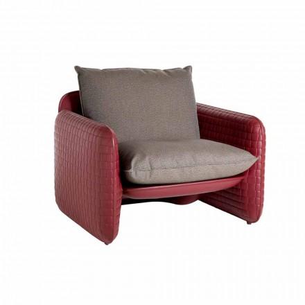 Lounge udendørs stol med vandtætte puder - Mara Slide