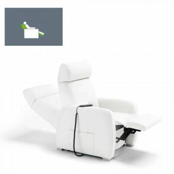 afslappende lænestol alzapersona 1 motor Via Milano Produceret i Italien