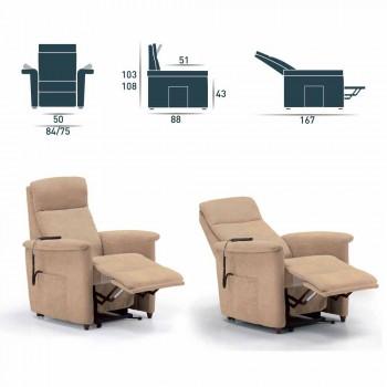 afslappende lænestol design alzapersona Via Firenze 2 motorer