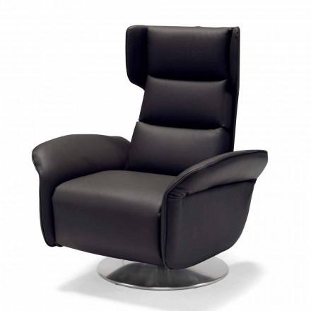 Motoriseret drejestol lænestol afslappende 2 motorer italiensk design Bao