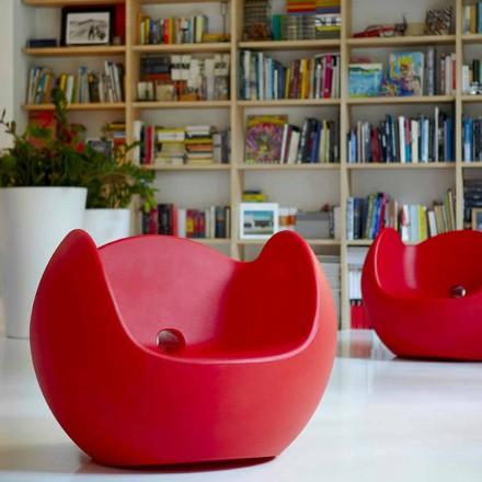 Gyngestole til have / design interiør Slide Blos, lavet i Italien