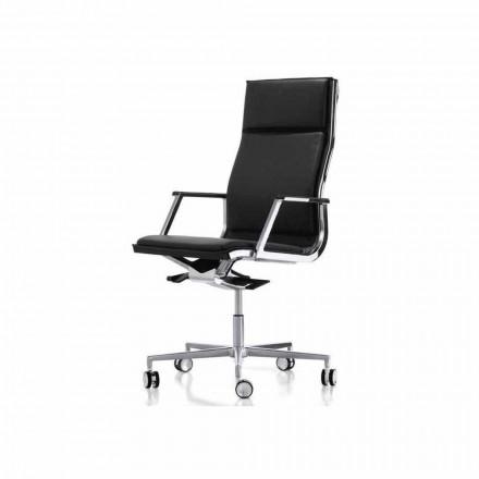 Ergonomisk kontorstol design med arme Nulite Luxy