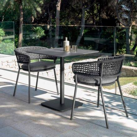 Moon Alu Have sæde af Talenti, i aluminium med moderne design
