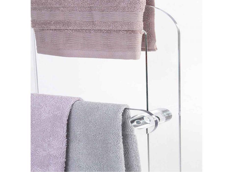 Håndklædeholder i Zaneta PMMA plexiglas