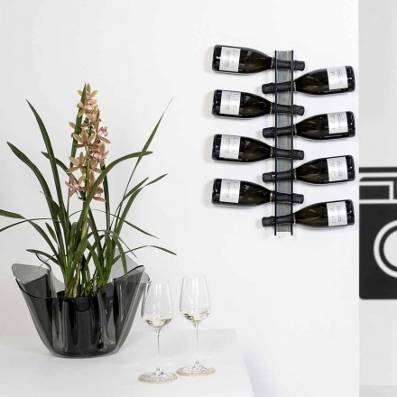 Porta flasker Wall røget Baby L6xH60xP11cm lille, moderne design