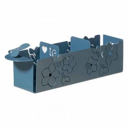 Porta poserne fra blomster af moderne design i jern fremstillet i Italien - Marken