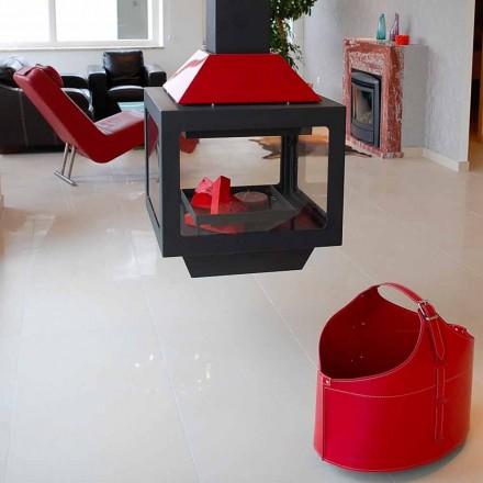 Portalegna fra interiør med hjul i en moderne regenereret læder Fabia