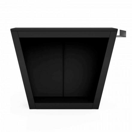 Indendørs eller udendørs brændeholder af design med bordplade - Esplanade