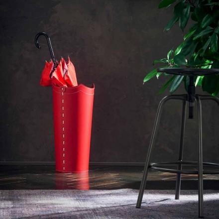 Design paraplyholder i læder til Paraplyhjem eller kontor
