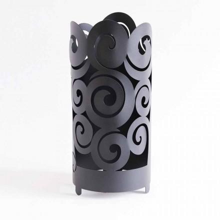 Paraplystander af moderne design i farvet jern fremstillet i Italien - Astolfo