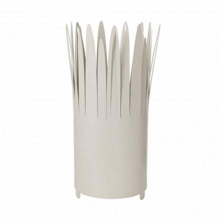 Paraplystander af moderne design i jern med barbermaskine fremstillet i Italien - Fuoco