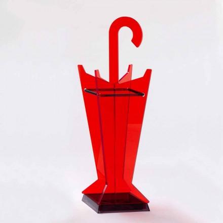 Paraplystativ i moderne design i farvet methacrylat fremstillet i Italien - Daddy