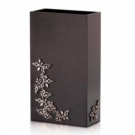 Moderne Elegant Rektangulær Design Paraplystativ i dekoreret træ - Dekoro