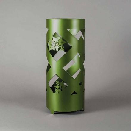 Paraplystativ i farvet strygejern af moderne design fremstillet i Italien - Enrica