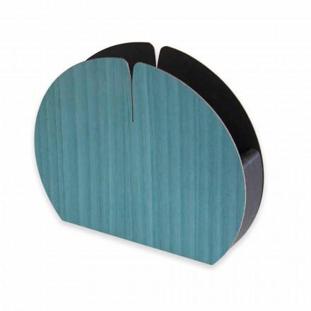 Moderne bordserviettholder i naturligt træ fremstillet i Italien - Stan