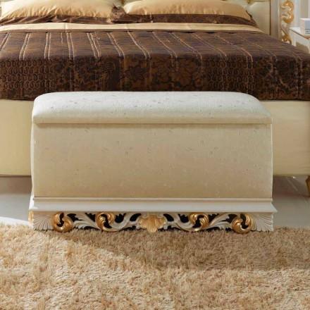 Puf beholder bedside Zais klassisk design, fremstillet i Italien