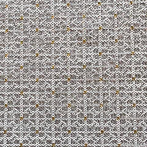 Blød osmannisk rektangulær puf til indendørs og udendørs i stof - Naemi