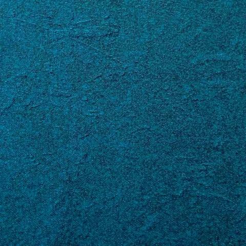 Blød rund puff til stue i farvet fløjl 3 dimensioner - Evelyne