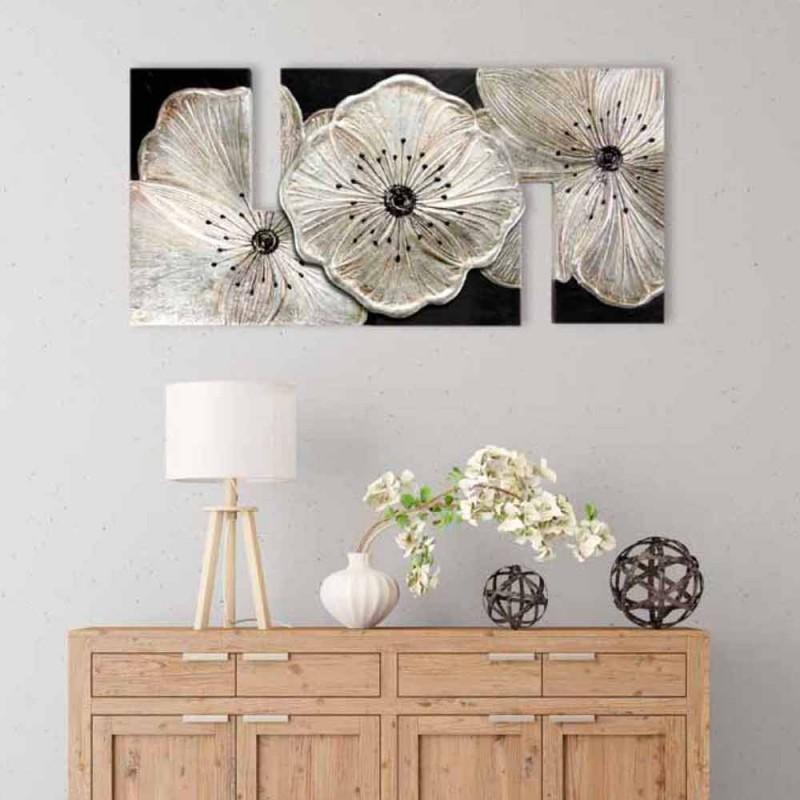 Billede med Petunia Piccola Argento blomster af Viadurini Decor