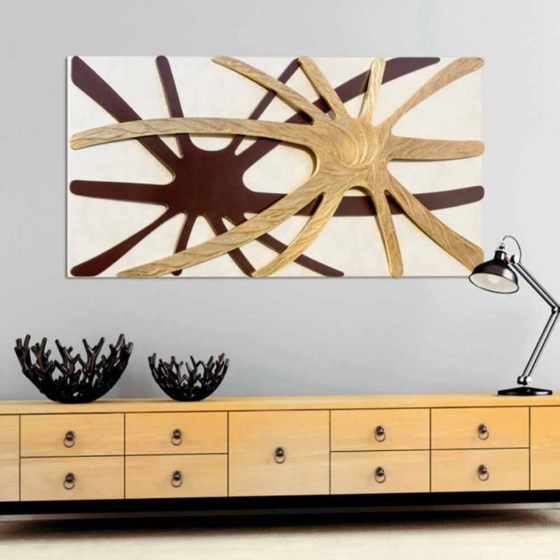 Abstrakt moderne rektangulært panel med en Chad perlemor