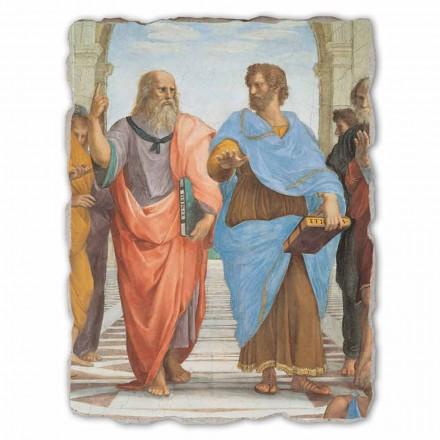 "Raffaello Sanzio ""Skolen i Athen"" del. Platon og Artistotele"