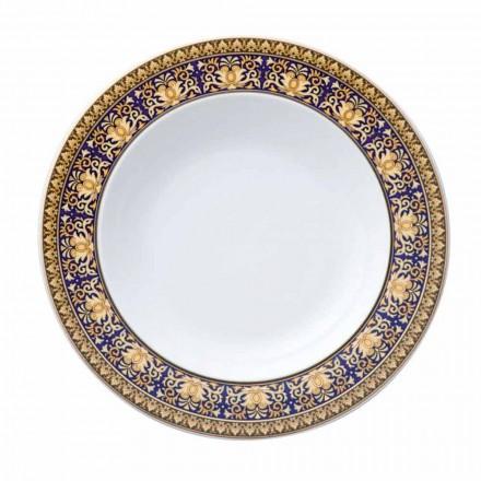 Rosenthal Versace Medusa Blue Plate moderne design porcelæn bund