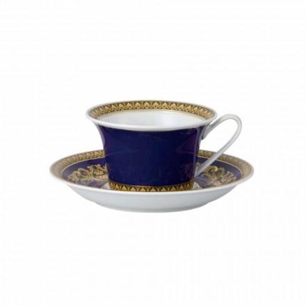 Rosenthal Versace Medusa Blå Mug af moderne design porcelæn te