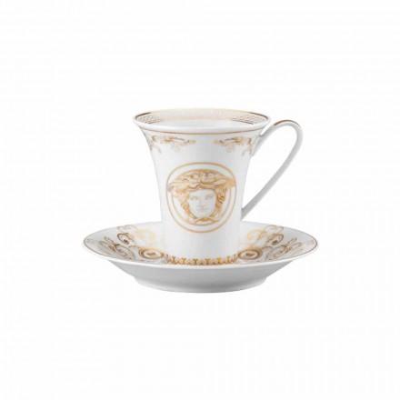 Rosenthal Versace Medusa Gala Cup høj porcelæn design Kaffe