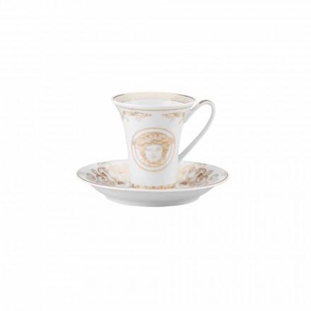 Rosenthal Versace Medusa Gala Cup Porcelæn Kaffe Design