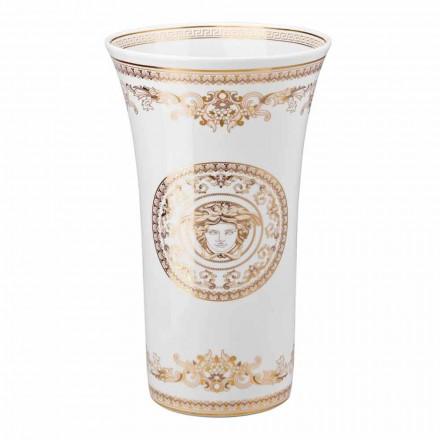 Rosenthal Versace Medusa Gala design porcelæn vase h 34cm