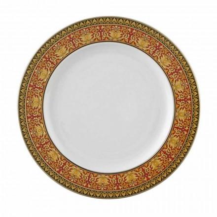 Rosenthal Versace Medusa Red Plate 22 cm porcelæn
