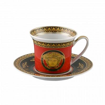 Rosenthal Versace Medusa Red Espresso kop design porcelæn