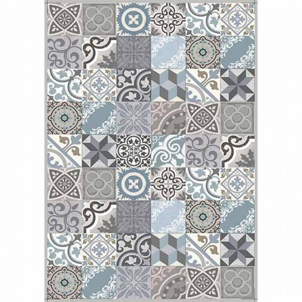 Modern design bordløber i pvc og polyester mønster - Belita
