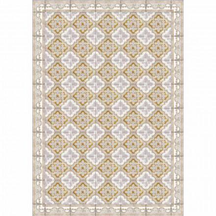 Bordløber af farverigt mønstret design i Pvc og polyester - Dorado