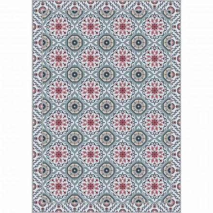Farvet design bordløber i Pvc og polyester med Fantasy - Meriva