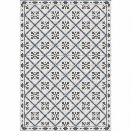 Bordløber i Pvc og polyester med moderne mønster - Berimo