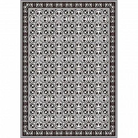Bordløber i Pvc og polyester i sort, blå eller grå design - Lindia