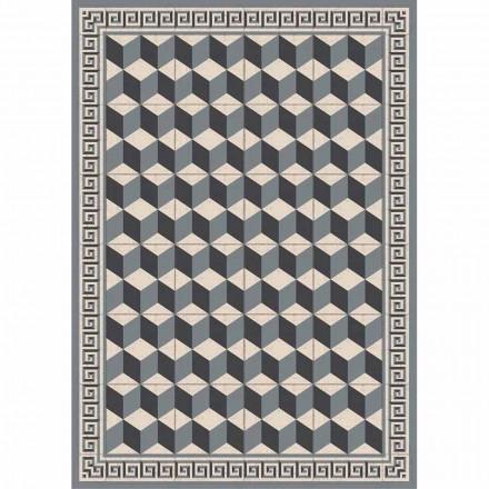 Mønstret bordløber i Pvc og moderne polyester - Romio