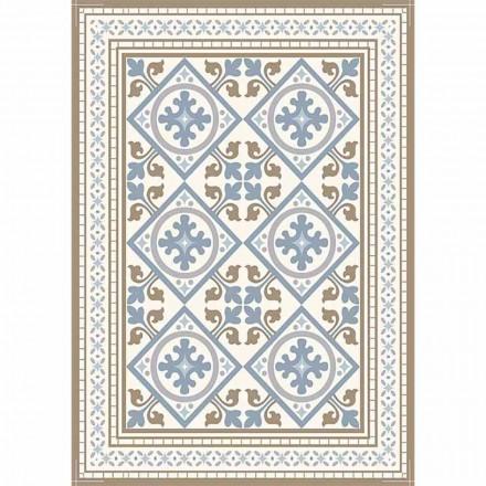 Moderne mønstret bordløber i Pvc og polyester - Leno