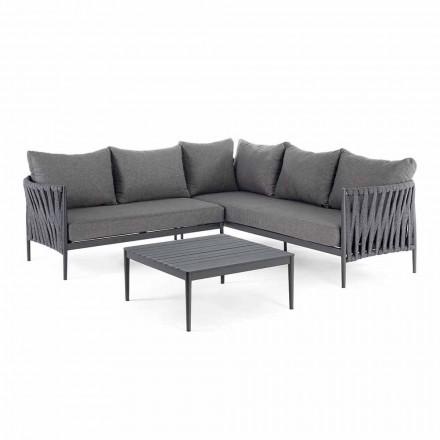 Hjørne Have Design Lounge, Homemotion - Lucio Flytbare puder
