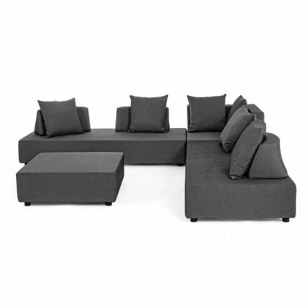 Moderne design udendørs hjørne lounge i homemotion stof - Benito