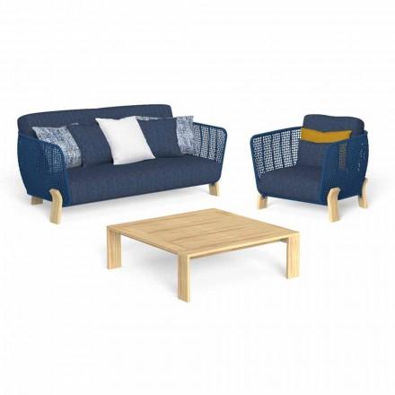 Have-lounge med sofa, lænestol og luksus sofabord - Argo af Talenti