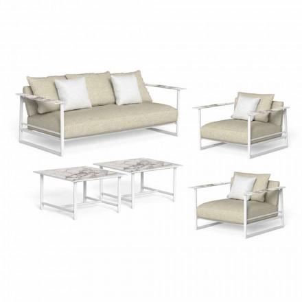 Luksus have lounge, sofa, lænestole og sofaborde - Riviera af Talenti