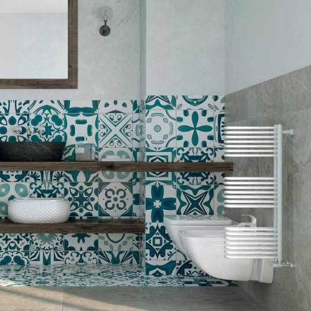 Håndklædevarmer hydraulisk design Hvid Corner Scirocco H