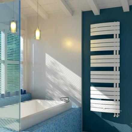 elektrisk design håndklæde i hvid Sail Scirocco H stål