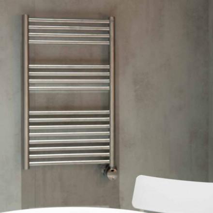 Elektrisk håndklædevarmer til badeværelset Lodret design i stål 300 W - Italo
