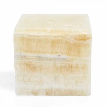 Æske med låg i Portoro Marble Design Square italiensk - Maelissa
