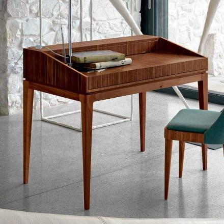 Skrivning af moderne design i valnød, L 105 x W 65 cm, Acario